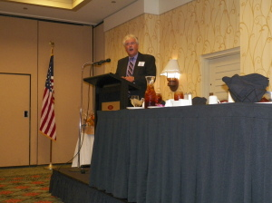 Tim Petty, Past President & Master of Ceremonies