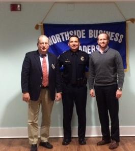 President, Greg Tison, Sheriff Mike Williams, & 1st Vice President, Patrick Bennett