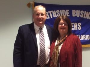 President, Greg Tison & City Council President, Lori N. Boyer
