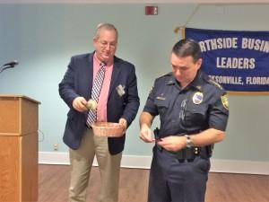 President Greg Tison & Sheriff Mike Williams