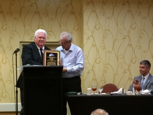 Past President, Tim Petty is our Member of the Year. Congratulations!
