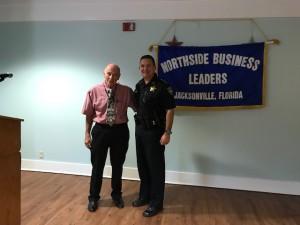President, Paul Forte & Sheriff Williams